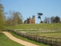 Stowe Garden - The Gothic Temple.