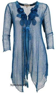 Loral Cardigan Tunic In Turquoise #boutique #vintage #lace #vintageinspired #womensclothing #womansclothing #pretty #beyourself #selfie #girl #unique #fashionista #fashion #onlineshop #beautiful