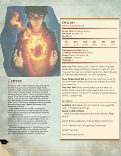 Gentry - from Tumblr (dnd-5e-homebrew)