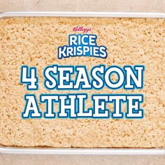Gather the team and game on! These sporty, easy-to-make Rice Krispies Treats are the winning play for any little athlete. Just grab a tray of homemade treats and a mug, add frosting to suit the season, and start tallying points on the scoreboard!