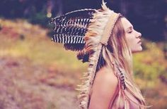 D E S E R T R O S E Feather Headdress by DesertRoseJewelryMF  I love headdresses!