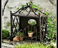 Garden Fairy Houses Twigs - Bing Images