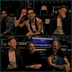 Depeche Mode with Anton Corbijn.