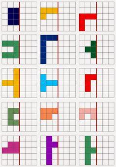 Lernstübchen: Spiegeln Source by Symmetry Worksheets, Symmetry Activities, Visual Perceptual Activities, Learning Activities, Kids Learning, Preschool Worksheets, Kindergarten Math, Teaching Math, Preschool Activities
