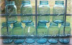 Phantastic Phinds: 32 Ways to Redo, Reuse, Repurpose Vintage Mason Canning Jars Bottles And Jars, Glass Bottles, Cute Crafts, Diy Crafts, Vintage Mason Jars, Ball Mason Jars, Trash To Treasure, Canning Jars, Mason Jar Crafts