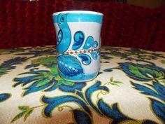 Tonala Mexican Blue Bird Pottery by EnchantingArtistry on Etsy, $29.95