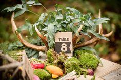 banner design table number