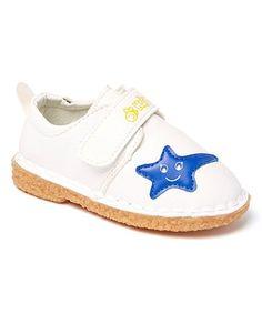 White & Blue Star Moe Shoe