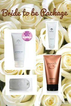 Bride to be wedding package  Treat an upcoming bride to a special pamper package or they also make great bridesmaid gifts.  Polishing peel to instantly refresh your skin. Hand lotion for the important ring photos Sole solution to keep feet soft Complete w http://beautifulclearskin.net/