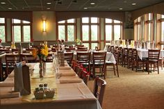 River Bend Golf Club | Indoor Wedding Reception in the Clubhouse, Wheatstack, in Lisle, IL