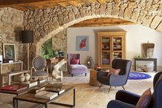 oh yes, of course someday I will have a stone archway in my living room.  Ha ha!