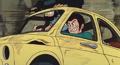 Hayao Miyazaki, Studio Ghibli, Comic Art, Comic Books, Lupin The Third, Car Drawings, Machine Design, Light Novel, Anime Figures