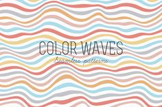 Seamless striped patterns by magnia on @creativemarket
