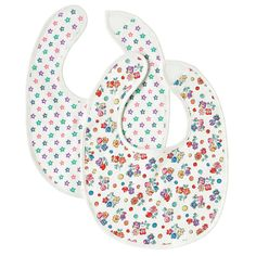 Pack of 2 Spot Floral Bibs | Baby Girl | Cath Kidston