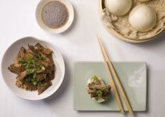 Pork Char Siu with Steamed Chinese Buns - Bon Appétit