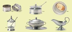 Match Pewter Table Service - particularly like the gravy boat #879.0