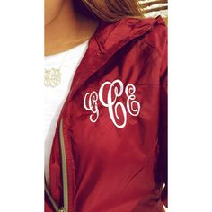 classy-virginia-belle: Monograms on a rainy day Preppy Girl, Preppy Style, My Style, Preppy Outfits, Fall Outfits, Cute Outfits, Raincoats For Women, Playing Dress Up, Passion For Fashion