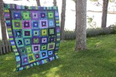 Photo: Album, Quilts, Blanket, Quilt Sets, Blankets, Log Cabin Quilts, Cover, Comforters, Quilting