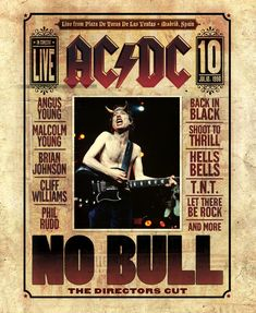 Rare Mini Print/Poster - Size: A4 (Approximately: 21 cm x 29.7 cm) 8.27 inches x 11.7 inches. Guitar Logo, Guitar Tattoo, Ac Dc, Malcolm Young, Brian Johnson, Angus Young, Walmart, Young Black, Vintage Music
