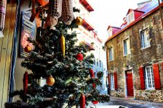 Quebec City in Canada is a taste of Europe in North America, especially during Christmas. If you want the perfect, white Christmas there's no better place to visit.