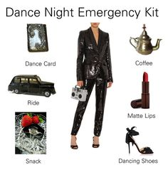 """Dance Night EK"" by seasidecollectibles ❤ liked on Polyvore featuring Dolce&Gabbana, Fashion Fair, Christian Louboutin, Mémoire, TAXI and vintage"