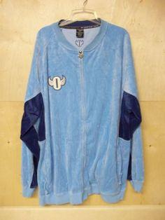 3XL Outcast Clothing Mens Jacket Front Zipper & Zipper Pockets Light Blue Valora #OutcastClothing #ZipperFront