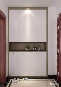 built-in shoes cabinet for enterway