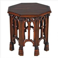 Gothic Revival Octagonal Side Table Was: $499.00           Now: $349.00