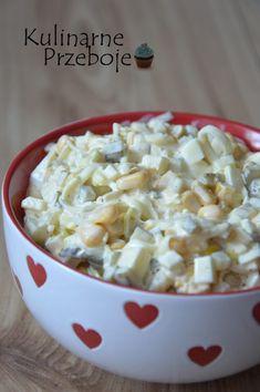 Sałatka z pora - KulinarnePrzeboje.pl Appetizer Salads, Appetizer Recipes, Salad Recipes, I Love Food, Good Food, Yummy Food, Vegetarian Recipes, Cooking Recipes, Healthy Recipes