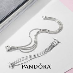 >>>Pandora Jewelry OFF! >>>Visit>> A new take on Pandora Reflexions. This multi-snake chain bracelet in sterling silver is elegant and sleek perfect to add to your spring wardrobe. Book Jewelry, Cute Jewelry, Charm Jewelry, Jewelry Art, Silver Jewelry, Jewellery, Pandora Bracelet Charms, Pandora Jewelry, Small Diamond Rings