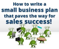 How to Write a Small Business Plan That Paves the Way for Sales Success image small business plan success 575