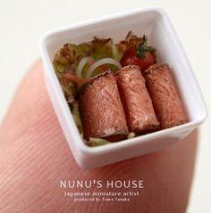 nunu's house #nunushouse #miniaturefood