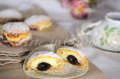 Monachine napoletane dolci di sfoglia e crema vickyart arte in cucina