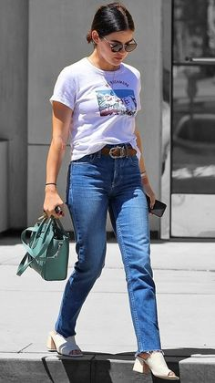 Lucy Hale in Los Angeles, California on Monday Lucy Hale Outfits, Lucy Hale Style, Stylish Photo Pose, Cool Girl Style, Girl Fashion, Fashion Outfits, Selena Gomez, Bollywood Girls, Street Style Summer