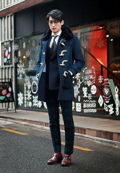 Blackwatch trousers/monk straps