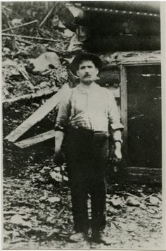 Blacksmith Fred LaRose discovered silver in 1903 while working for the railroad - The Cobalt Adventure Cobalt, View Image, Blacksmithing, Small Towns, Geology, Ontario, Adventure, History, Photograph