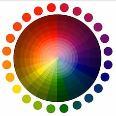 Free Printable Complementary Color Wheel | Choosing colors based on the color wheel.