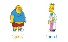 The Difference Between Geeks and Nerds Settled in Infographic — GeekTyrant