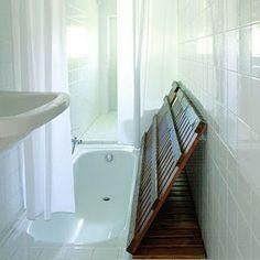 Interior Decline: smart design: tiny bathroom solution
