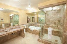 Santa Ynez Inn bathroom, including heated floors and steam shower- heart of Santa Barbara's wine country