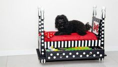 How To Make A Dog Bed (with Four-posters)