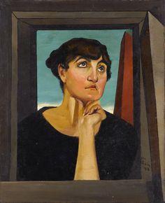 Giorgio De Chirico, Alceste, 1918.