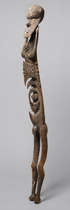 Male Figure [Inyai-Ewa people, Korewori River, Middle Sepik region, Papua New Guinea] (1978.412.856) | Heilbrunn Timeline of Art History | The Metropolitan Museum of Art