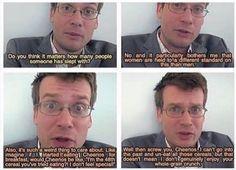 Double standards, by John Green
