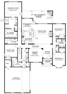 Stunning Open Floor Plan House Plans in White: Luxury House Gallery Room Open Floor Plan House Plans ~ novavn.com Interior Designs Inspiration