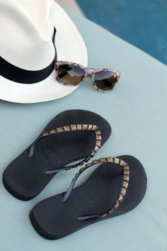 Tutorial for making your own DIY studded flip flops For the Love of…