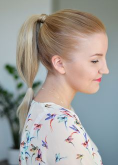 Carrie ponytail