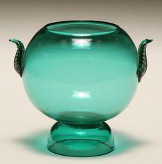 Zecchin Martinuzzi Deco Soffiati Glass Vase 12cm