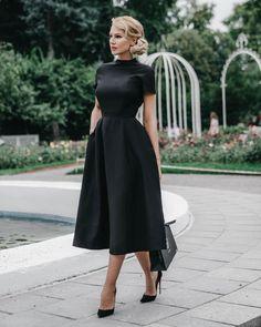 Black dresses classy - Black, classy dress and black prom dress – Black dresses classy Black Evening Dresses, Black Prom Dresses, Cute Dresses, Beautiful Dresses, Dress Black, Black Dress Outfit Party, A Line Dresses, Dress Prom, Black Dress For Funeral