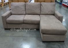 the chaise can be set up on the right or left allowing for more placements options in your home costco has the pulaski furniture fabric sofa chaise